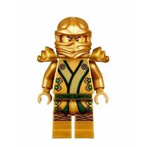 Lego Original Ninja Dorado Ninjago