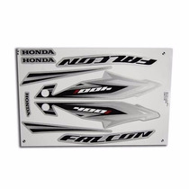 Kit Adesivos Honda Nx4 Falcon 400i 2013 Prata