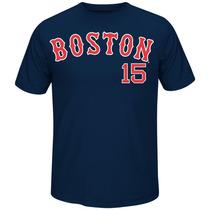 Franela Mlb Boston Red Sox Importada Tipo Drifit