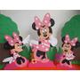 Figuras En Foami Minie, Mickey 80 Cms