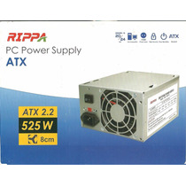 Fuente De Poder Rippa Atx 2.2 525w Pc Power Supply
