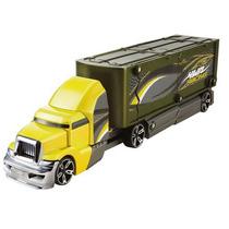 Hot Wheels Caminhão Batida Veiculo Verde E Amarelo - Mattel