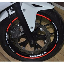 Friso Refletivo Adesivo Roda Interno Moto Honda Cb 500 F M1