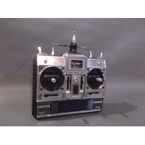 Radio Controle Futaba 5 Canais Para Aeromodelo Raridade T5