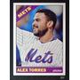 Bv Alex Torres New York Mets Topps Heritage High 2015 #643