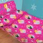 Sabanas Infantiles Disney Piñata 1 Plaza Frozen Y Princesas!