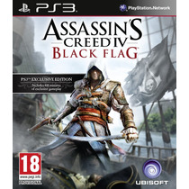 Jogo Midia Fisica Assassins Creed 4 Black Flag Pt Br Ps3