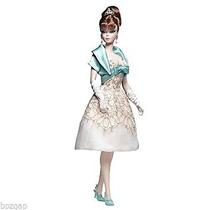 Juguete Mattel Barbie Silkstone Parte 2012 Del Vestido De L