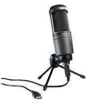 Microfone Audio Technica Condensador At-2020 Usb