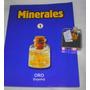 M1 Minerales Frasco Con Laminas De Oro 22 Ktes Con Garantia