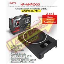 Amplificador Integrado 3 En 1 400 Watts Max Hfamp1000