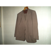 Traje P/hombre Yves Saint Laurent Color Oliva Talle 52