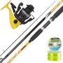 Equipo Pesca Variada Rio Caña Reta 2.40 M + Reel Hermes 401