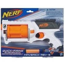 Nerf N-strike Maverick Rev-6 Lançador De Dardos Hasbro