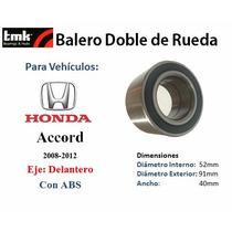 Balero Doble De Rueda Delantero Honda Accord 2008-2012 C/abs