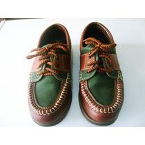 Zapatos De Cuero Tipo Mocasin Con Trenzas
