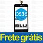 Tela Touch Screen Vidro Blu Studio 5.0 C D536 Preto Original