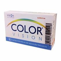 Lentes Contato Color Vision - Sem Grau