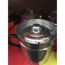 Jarro Aluminio Hervidor Con Tapa
