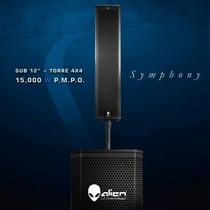 Sistema De Audio Alien Symphony Sub 12 + Torre 4x4