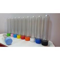 Tubos Golosineros Vacios 13cm Pack X 30 Unid. Tapa Plastica