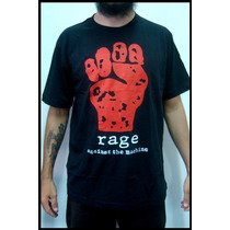 Camiseta Masculina Rage Agains The Machine