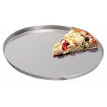 2 Assadeira De Forma Pizza 40cm Alumínio Super Resistente