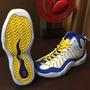 Tenis Nike Retro Tim Hardaway Gs, Azules, Talla 3 Mx, 23cm