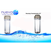 Housing Transparente 10 X 2.5 Para Osmosis Inversa
