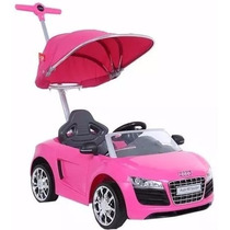 Audi Push Car Montable Guiado Para Bebe Con Sombrilla