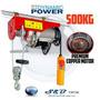Tecle Elevador Eléctrico 500 Kg / 110 V.
