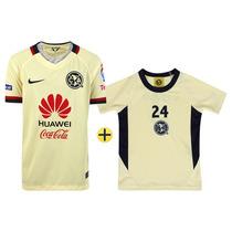 Kit Jersey Infantil Nike América Casa 15/16 S/n° + Playera A