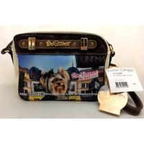 Bolsa Feminina Pequena Cão Yorkshire York Original Rafitthy