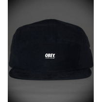 Boné 5 Panel Obey Refletivo Original Prontaentre Grizzly Dgk