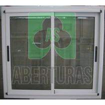 Aberturas: Ventana Aluminio Bl Ent Modena 150x110 Vidrio 4mm