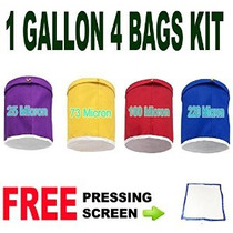 E-eventos Herbal Bubble Ice Hash Bag Essense Extractor Kit 1