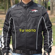 Chamarra De Motociclismo Pro Biker 08 Con Protecciones