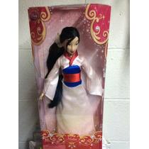Muñeca Princesas De Colección Disney Mulan