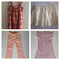 Pantalón Jean, Falda Para Chica Y Blusa Y Vestido Para Chica