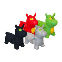 Montable Dragon Juguete Plastico Animalitos Infable