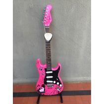 Guitarra Condor Rx20s Stratocaster Desing Rosa