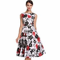 Roupas Femininas Vestido Vintage Importado Pronta Entrega!