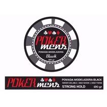 1 Pomada Modeladora Poker Mens 120g Black Atacado Consulte