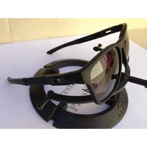 Oculos Catalyst Estilo Aviador Preto Fosco Lente Polarizada