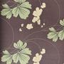 710403 - Floral (Violeta/ Verde Claro Acinzentado/