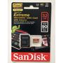 Micro Sd Sandisk Extreme 32 Gb V30 Gopro