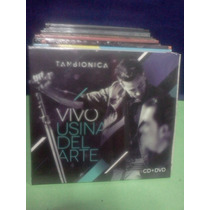 Tan Bionica Vivo Usina Del Arte Cd+dvd Nuevo Original