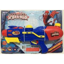Pistola Agua Spider Man Chica 39cm Tuni 1601