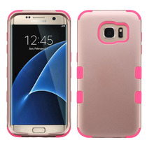 Funda Case Samsung Galaxy S7 Edge Rose/negro *envio Gratis*