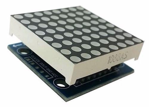 Módulo Matriz Led 3mm 8x8 Com Chip Max7219 Embutido - R  17 ac1f9dbd229b4